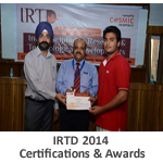 IRTD-2014-Certifications-&-Awards